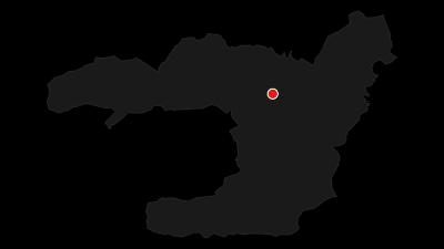 Karte / Auffahrt über den Pflegersee zu den Reschbergwiesen