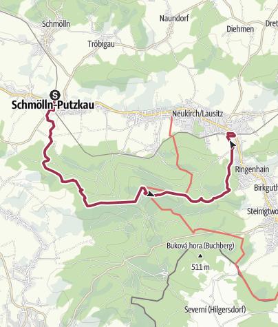 Karte / Am Valtenberg