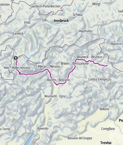 Map / Resia - San Candido
