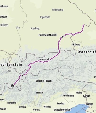 Map / Inntalradweg