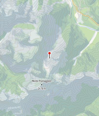 Map / Rifugio Flaiban-Pacherini