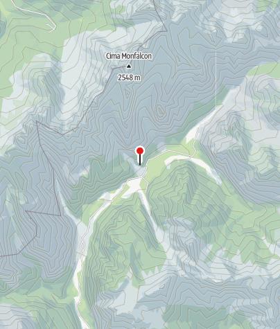Karte / Rifugio Pordenone