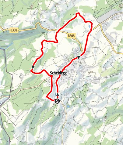 Karte / Scheidegg R7