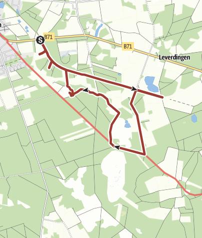 Karte / Heide-Erlebnispfad Neuenkirchen