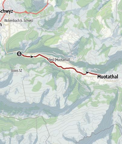 Karte / Witzwanderweg