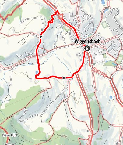 Karte / Burgweg