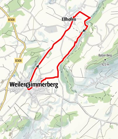 Karte / Weiler-Simmerberg R13