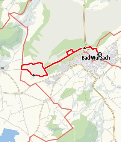 Karte / Bad Wurzach - Ins Wurzacher Ried