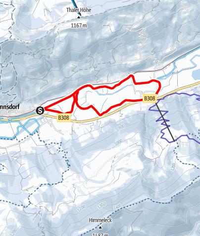 Karte / Ratholz-Loipe