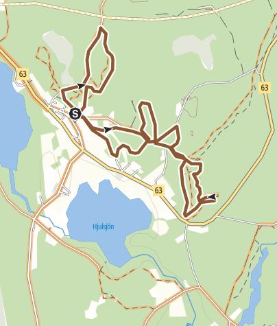 Map / Hjulsjö MTB5