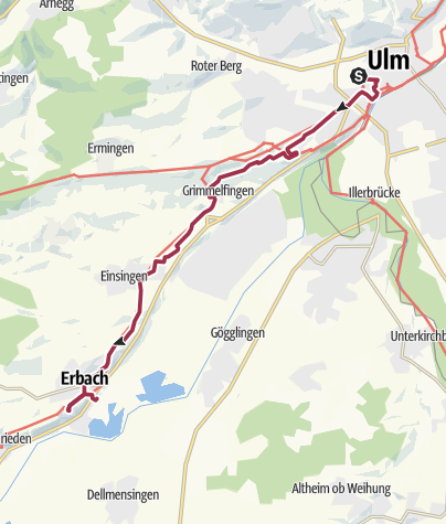 Karte / In Ulm und um Ulm herum