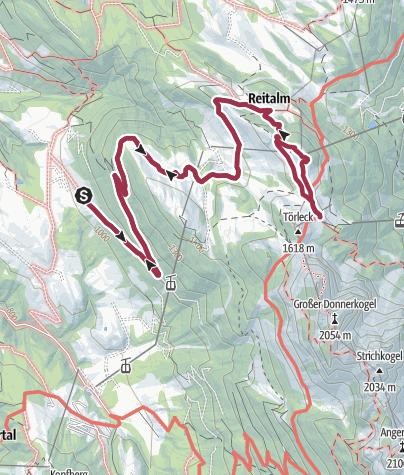 Map / Annaberg: Zwieselalm-Gablonzer Hütte-Aussicht (12 Punkte)
