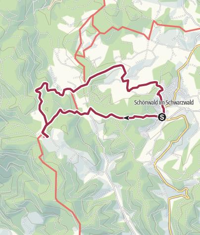 Map / Schönwald - Zur Martinskapelle