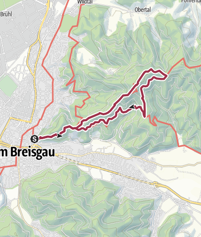 Karte / Freiburgs Dächer