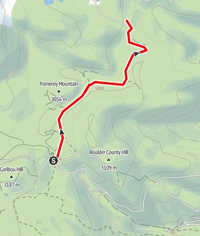 Map / CARIBOU CREEK 2/3