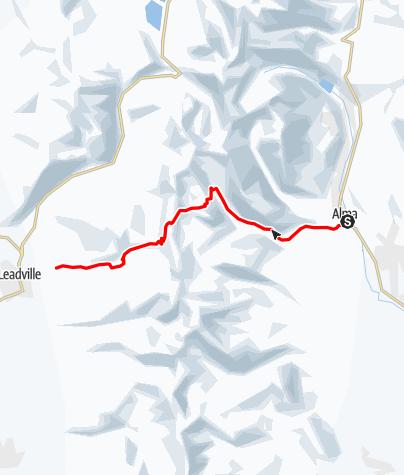 Map / Mosquito Pass 3/4