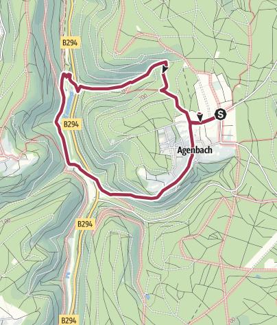Karte / AugenBlickRunde Neuweiler