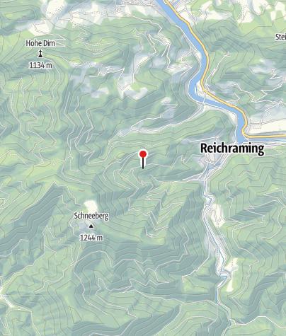 Karte / Jagdhütte 650m