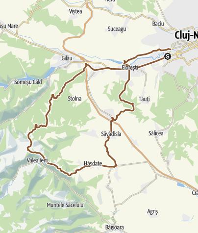 Map / CJ - Muntele Rece 1