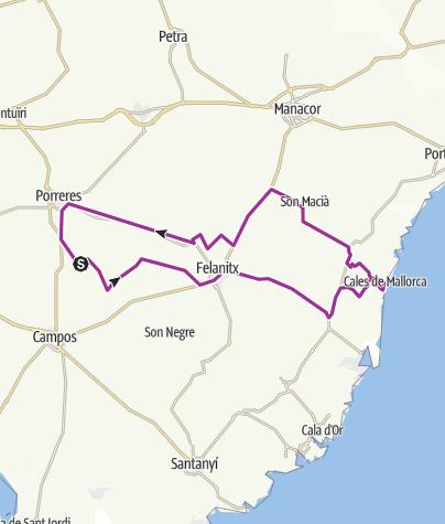Map / Mallorca 2015: Apr 20