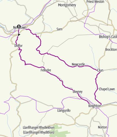 Map / Knighton Loop