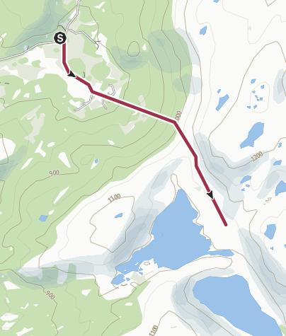 Map / Stavedalen til Ljom