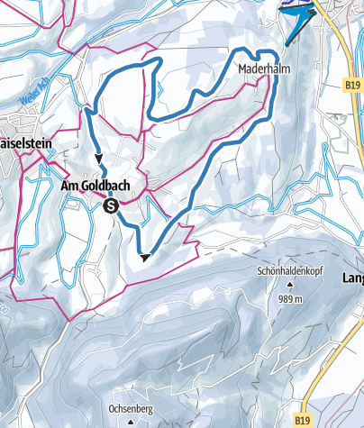 Map / Oberdorfer Loipe - Langlaufen in Obermaiselstein