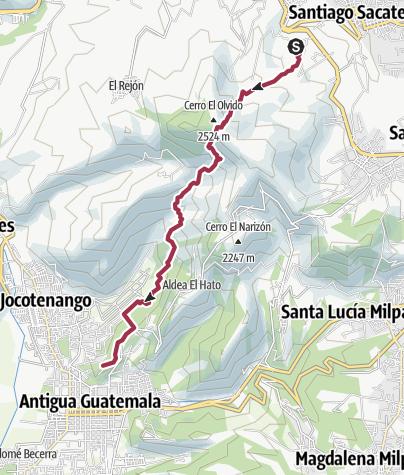 Map / Granja a la Antigua
