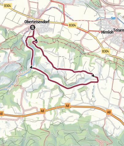 Karte / Salzburgblick-Weg
