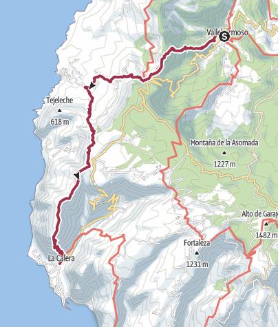 Carte / D3 Vallehermoso - Valley Gran Rey