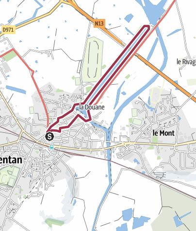 Map / Tour du Canal CARENTAN