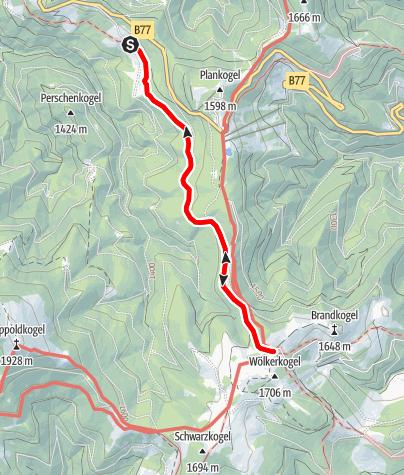 Karte / Römerweg