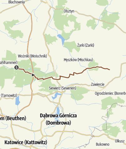 Map / Kalety-Morsko