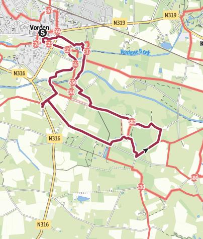 Map / Rondje Vorden