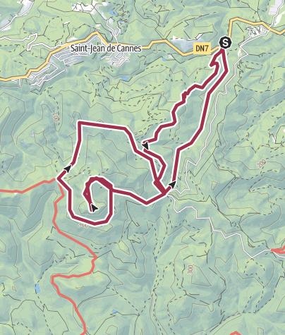 Map / pic des surviéres