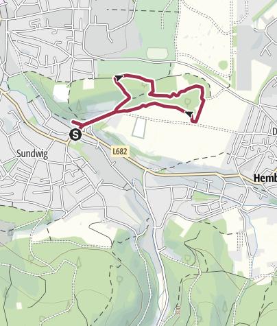 Karte /  Felsenmeer und Heinrichshöhle