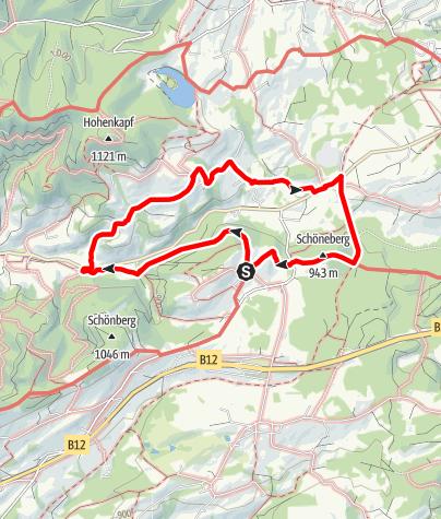 Karte / Rechtis - Morgenbrunnen