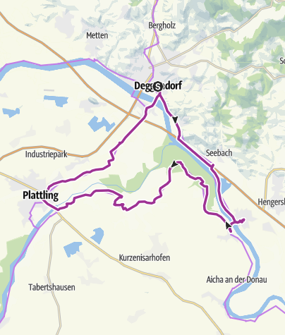 Isarradweg Karte.Von Deggendorf Rund Um Die Isarmundung Radtour