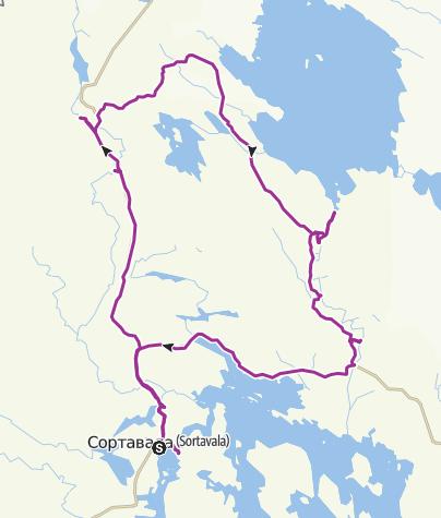 Map / Рускеала
