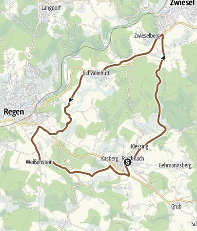 Karte / Rinchnacher Biketour