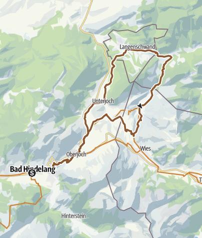 Karte / Durch das Vilstal