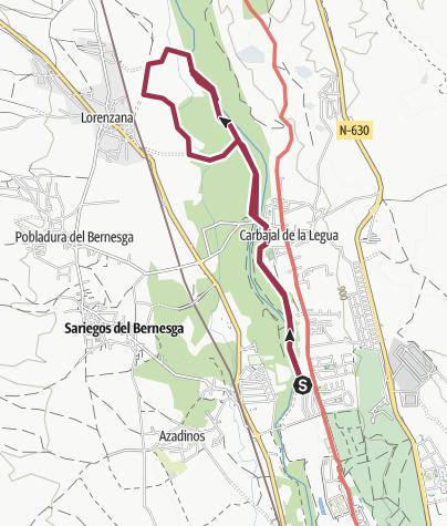 Map / Carbajal > Lorenzana > Carbajal
