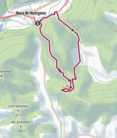 Map / Bosque de Matapiojos (Boca de Huérgano)-PRLE-33