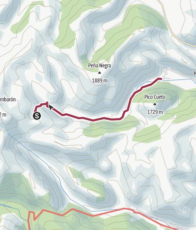 Map / Montrondo-Laguna Pozo Hollado-Montrodo(CIRCULAR)