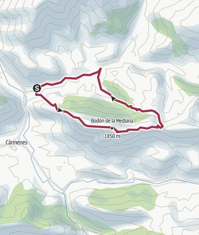 Map / Pontedo-Sierra Mediodia-Hayedo Canseco-Pontedo