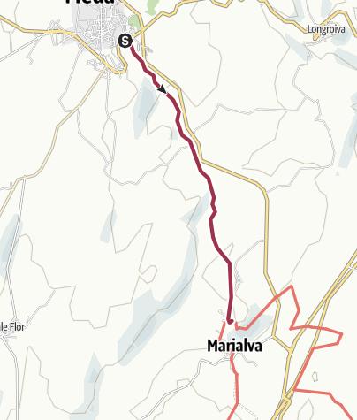 Map / De Meda a Marialva