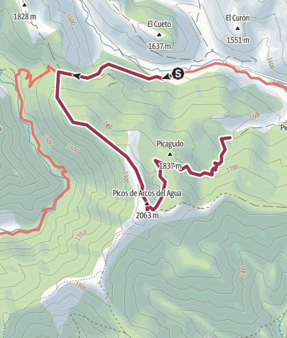 Map / FASGAR-ARCOS DEL AGUA FASGAR-1ª PARTE (CIRCULAR)