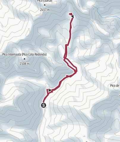 Map / Senda Pozo de las Lomas
