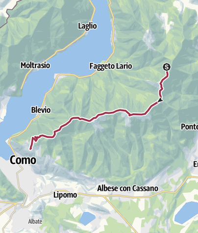 Mapa / Riella-Brunate