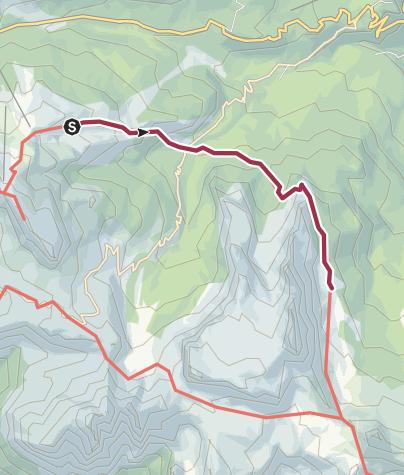 Map / DH1 5 Rifugio Cinque Torri - Rifugio Croda da Lago